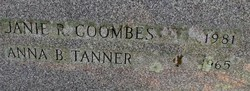 Janie R. <i>Tanner</i> Coombes