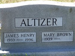 Mary <i>Brown</i> Altizer