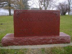 Mary Ann <i>Albright</i> Carpenter