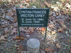 Cynthia Frances <i>Rector</i> Carey