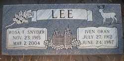 Iven Oran Lee