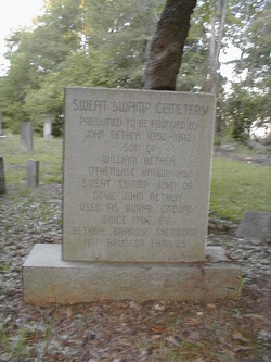 Sweat Swamp Cemetery