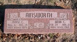 Mary Clemmie <i>Blalock</i> Ainsworth