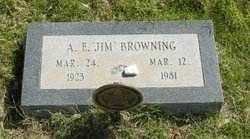Alvin E Browning