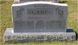 Betty Rose <i>Cook</i> Camp