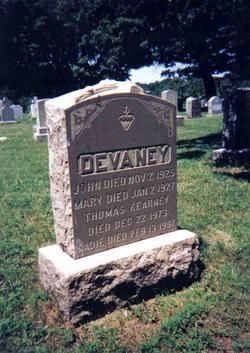 Mary <i>Duffy</i> Devaney