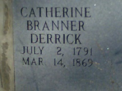 Catherine <i>Branner</i> Derrick
