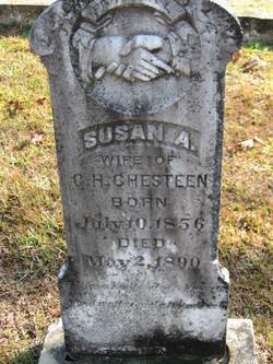 Susan A. <i>Garrett</i> Chesteen
