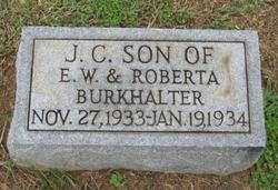 J C Burkhalter