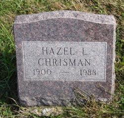 Hazel Lenore <i>Lane</i> Chrisman
