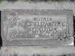 Alice Elizabeth <i>Chatterton</i> Byington