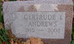 Gertrude I Andrews