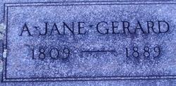 A Jane Gerard