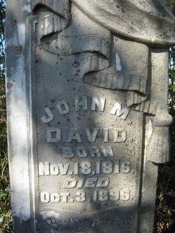 John Morrisett David