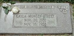 Gayla June <i>Monsen</i> Street