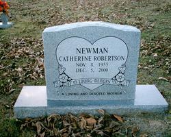 Catherine <i>Robertson</i> Newman