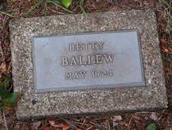 Betty Ballew
