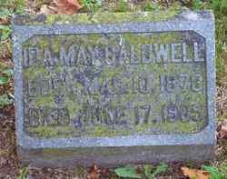 Ida May <i>Dow</i> Caldwell