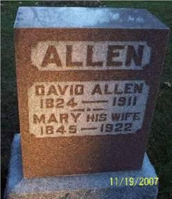 Mary <i>Johnson</i> Allen