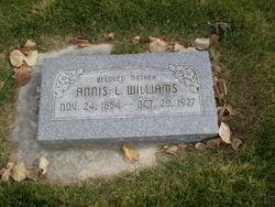 Annis L <i>Snyder</i> Williams