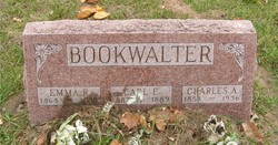Carl E Bookwalter