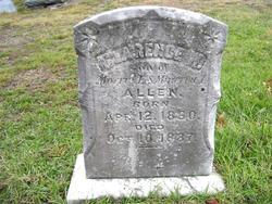 Clarence W Allen