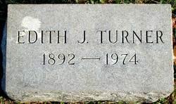 Edith J Turner