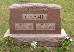Mary Caroline <i>Crippen</i> Champ