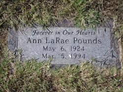 Ann LaRae Pounds