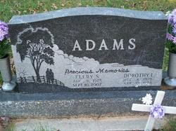 Dorothy I Adams