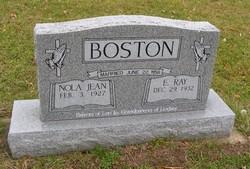 E Ray Boston