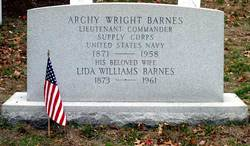 LCDR Archy Wright Barnes