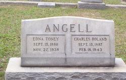 Edna <i>Toney</i> Angell