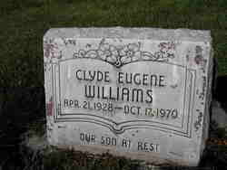 Clyde Eugene Williams