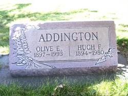 Hugh F Addington
