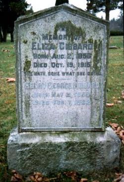 Eliza <i>Cooke</i> Gibbard