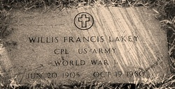 Willis Francis Lakey