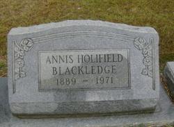 Annis <i>Holifield</i> Blackledge