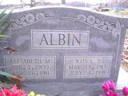 Nova E. Albin