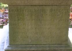 Charlotte Sophia <i>White</i> Sargent