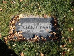 Thomas Leslie Timms
