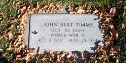 John Bertrand Timms