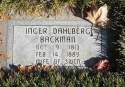 Inger Johansson <i>Dahlberg</i> Backman