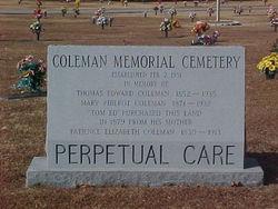 Coleman Memorial Cemetery