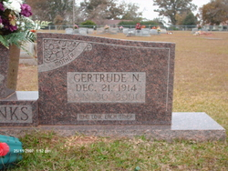 Gertrude <i>Nicholson</i> Eubanks