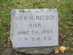 William Henry Harrison Reeder