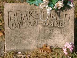 Jane <i>Brooks</i> Brakefield