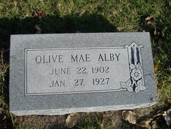 Olive Mae Alby