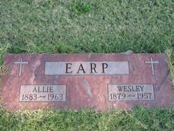 Allie Naoma <i>Wright</i> Earp