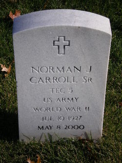 Pvt Norman J Carroll, Sr